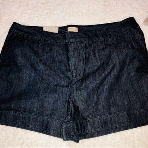 Gap Dark Denim Shorts